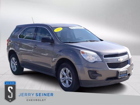 Pre-Owned 2010 Chevrolet Equinox LS FWD Sport Utility